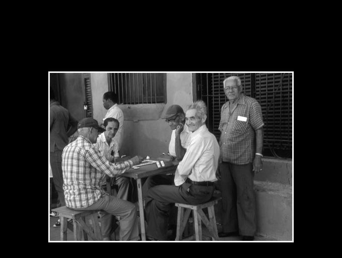 Cuba 90; Joueurs de dominos