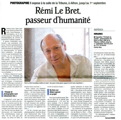 Presse Dauphiné- 22 08 13