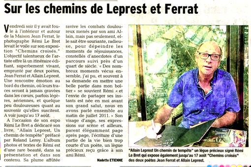 Presse Dauphiné 24-07-2015
