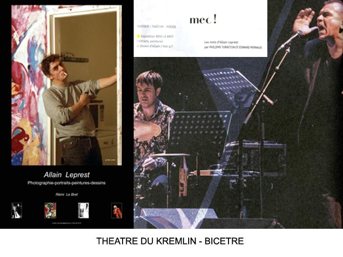 5 mai 2017 Théâtre du Kremlin Bicêtre