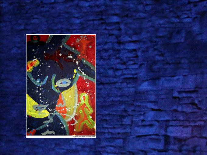 Montage sur toile 50 x 40