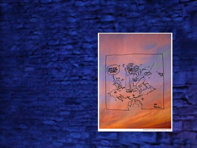Montage sur toile 56 x 46