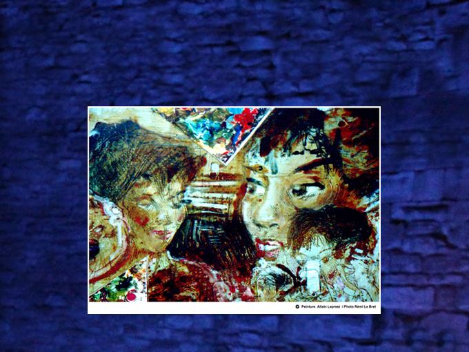 Montage sur toile 40 x 50