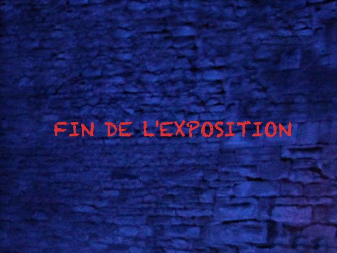 Fin de l'exposition