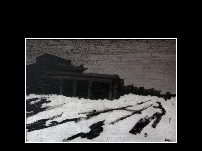Le froid  60 x 41  2