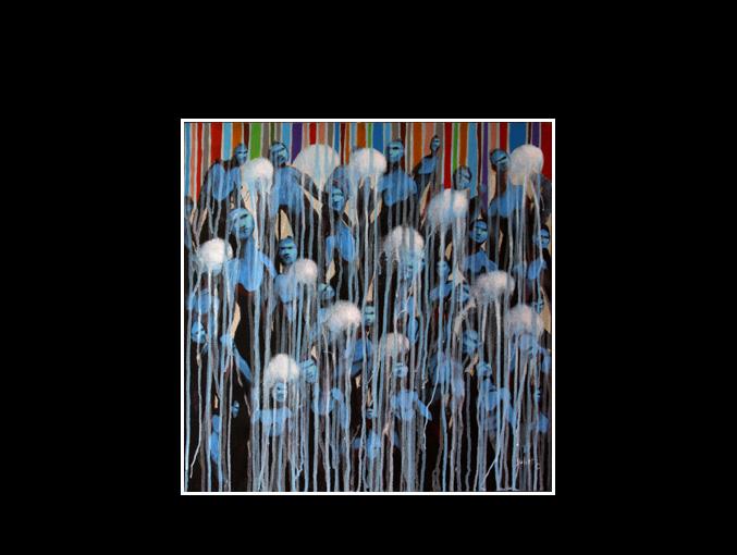 Les méduses (50 x 50)