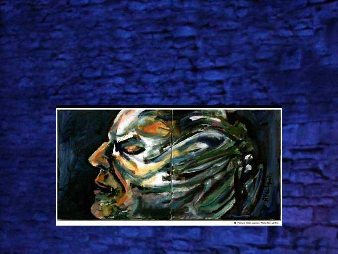 Montage sur toile 40x50